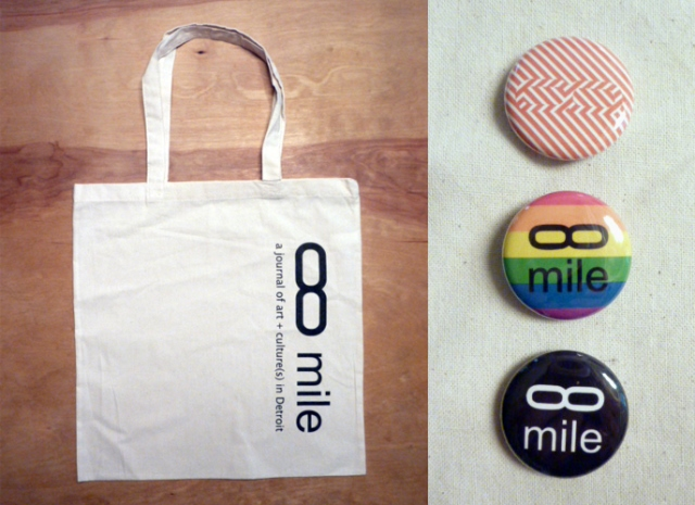 infinite mile tote bag